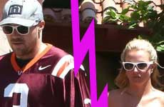 Britney Spears es soltera! Deja a David por infiel!