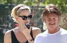 Amigos advierten a Charlize sobre Sean Penn temen por su seguridad