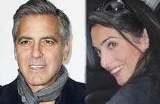 George Cloone y su prometida ya tienen licencia de matrimonio