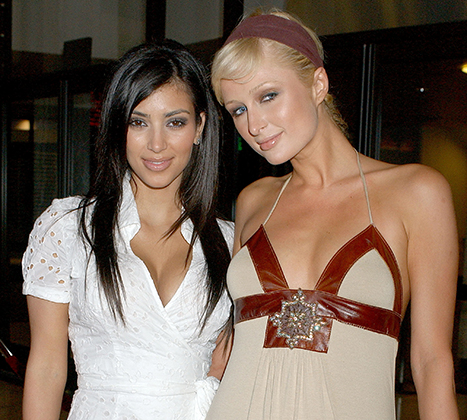 Paris Hilton inspiró la fama de Kim Kardashian