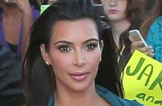 Kim Kardashian quiere perder unos 9 kilos!! Se siente GORDA!