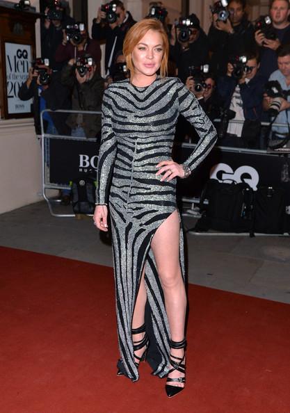 Lindsay Lohan en los GQ Awards