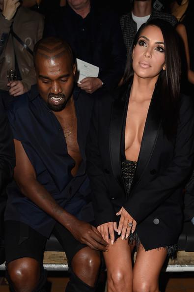 Kim Kardashian y Kanye West: los Fashion Flu del Paris Fashion Week