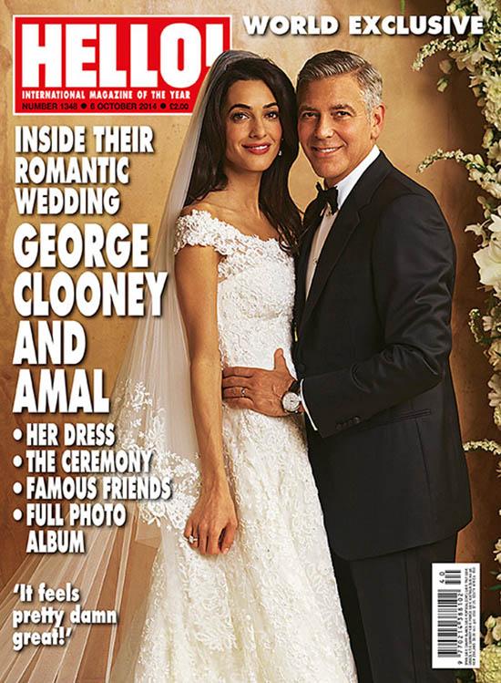 Fotos de la boda de George Clooney y Amal Alamuddin