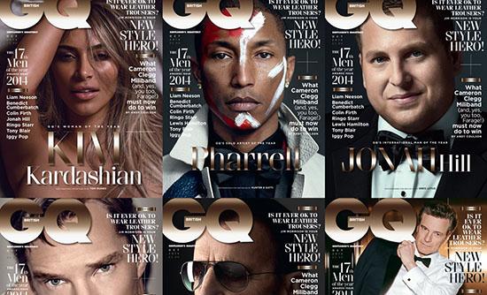 Portadas de GQ Men Of The Year 2014