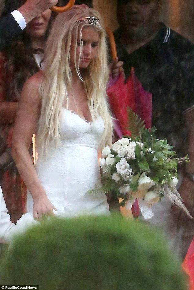 Fotos de la boda de Ashlee Simpson y Evan Ross - No, Thank You!
