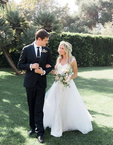 Ashley Tisdale CASADA con Christopher French