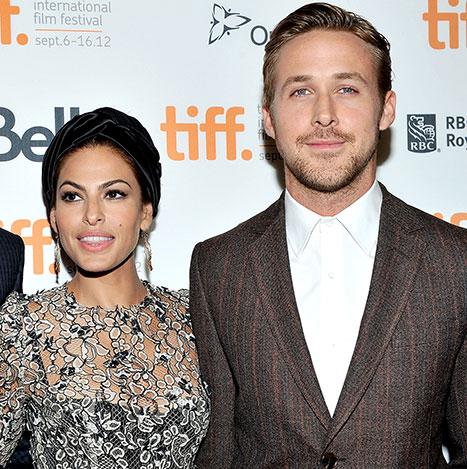 Eva Mendes tuvo a su hija con Ryan Gosling