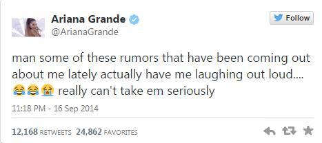 Ni el asesor personal de Ariana Grande la soporta?