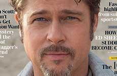 Brad Pitt en GQ – Matrimonio, Clooney, Shia, Twitter