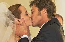 Fotos de la boda de Angelina Jolie y Brad Pitt!!