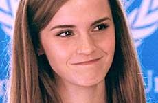 Amenazan a Emma Watson por feminista