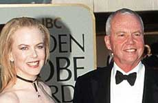 Muere el padre de Nicole Kidman