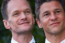 Neil Patrick Harris y David Burtka se casan en Italia!