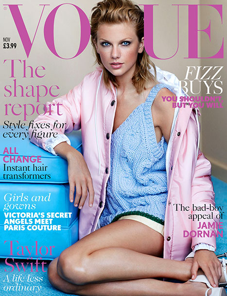 Taylor Swift debuta en Vogue