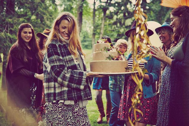 Blake Lively en su baby shower! - Adorable o Pretencioso?