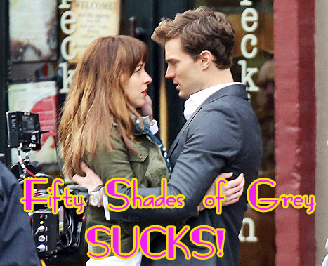 Guess What? Las escenas de Fifty Shades of Grey... SUCKS!!!