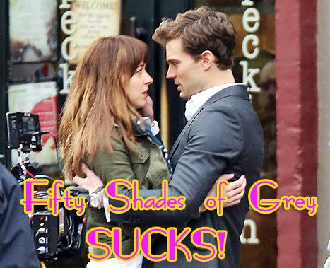 Guess What? Las escenas de Fifty Shades of Grey... SUCKS!!!