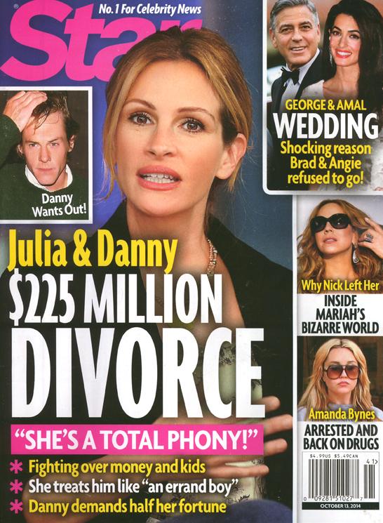 Julia Roberts se divorcia? Chismes de Star!