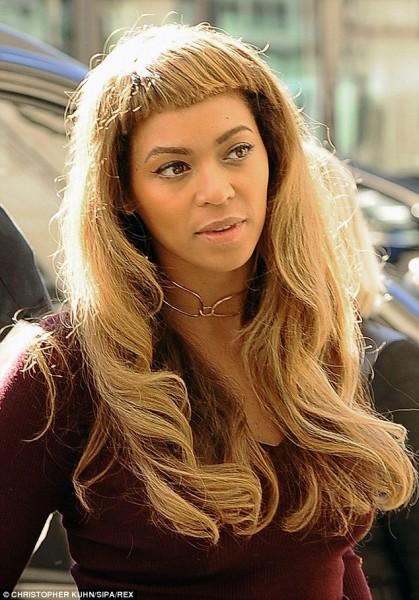 OMG! La nueva peluca de Beyonce - FUG!