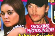 Ashton Kutcher pillado en la cama con otra mujer? – Chismes de Star
