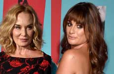Jessica Lange no es fan de Glee (ignora a Lea Michele)