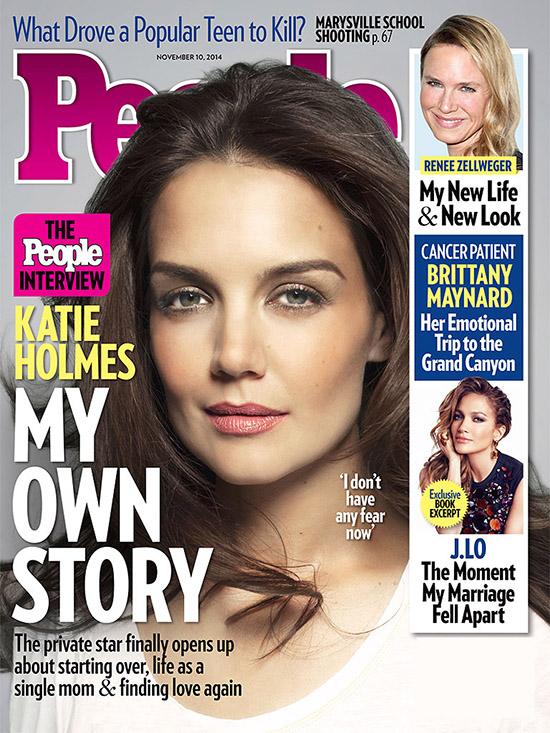 Katie Holmes ya no tiene miedo - She is FREE!