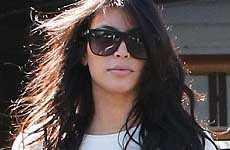 Asi va Kim Kardashian al cine el finde - OF COURSE!