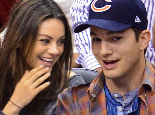 Mila y Ashton Kutcher: padres de una niña!