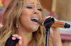 Mariah Carey lucha con su voz en Tokio