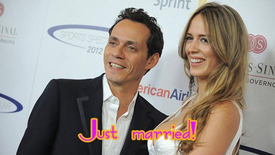 Marc Anthony se casó con Shannon De Lima!