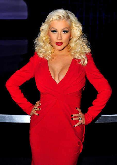 Christina Aguilera muestra su figura post parto (3 meses después)