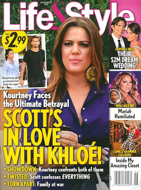 Kourtney traicionada: Scott y Khloe!!! Chismes de L&S