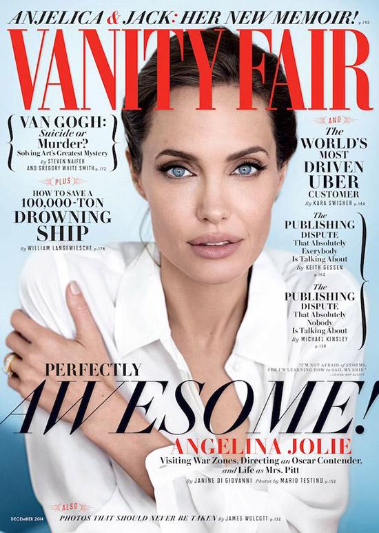 Angelina Jolie en un cargo político? [Vanity Fair]