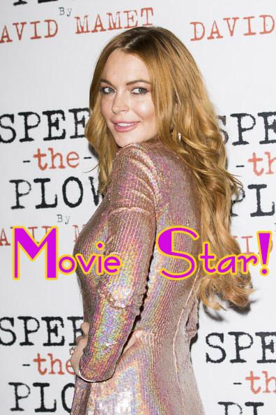 Lindsay Lohan prepara su regreso como Movie Star!