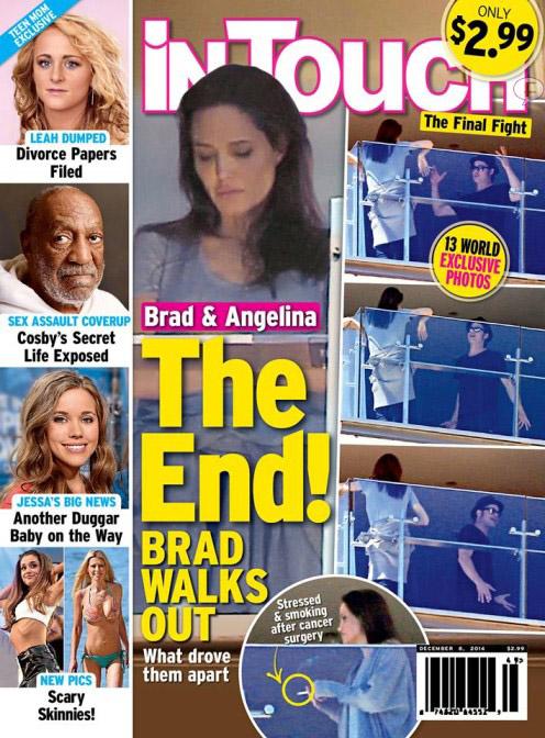 Brad y Angelina: El Final! Brad se va! [InTouch]