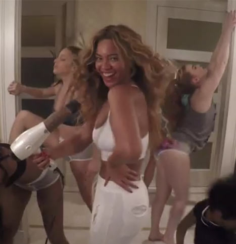 """Beyonce sin pantalones en su nuevo video """"7/11"""" - Funny o FAKE?"""