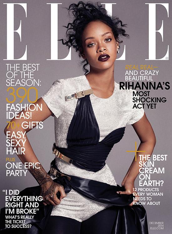 Rihanna sorprende con sus deseos para navidad [Elle]