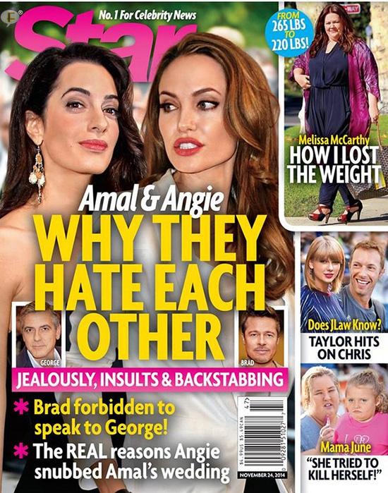 Angelina Jolie y Amal Alamuddin se odian!! [Chismes de Star]