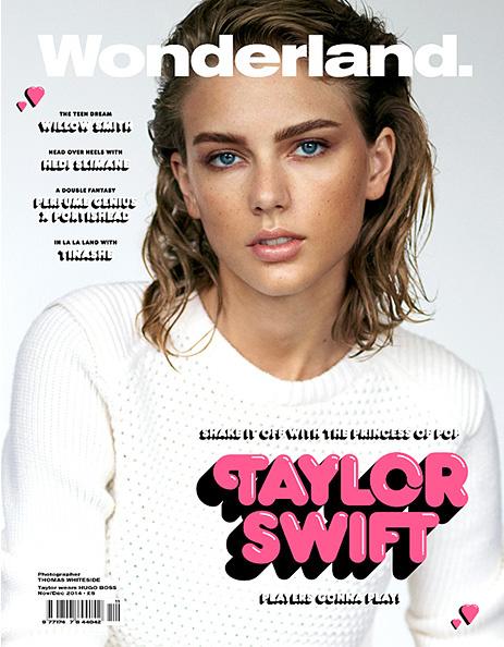Taylor Swift luce diferente en Wonderland