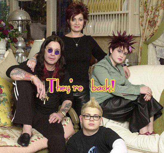 Vuelve la serie The Osbournes