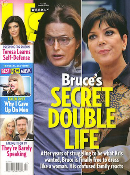 La doble vida secreta de Bruce Jenner - [Us Weekly]