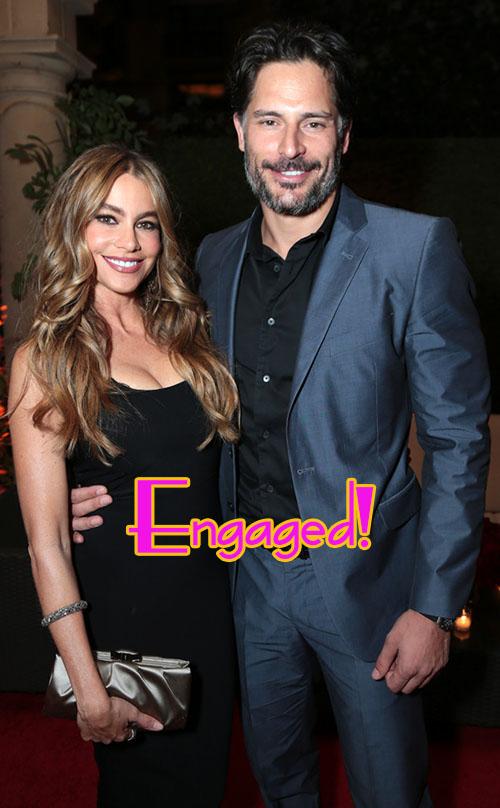 Sofia Vergara comprometida con Joe Manganiello!!