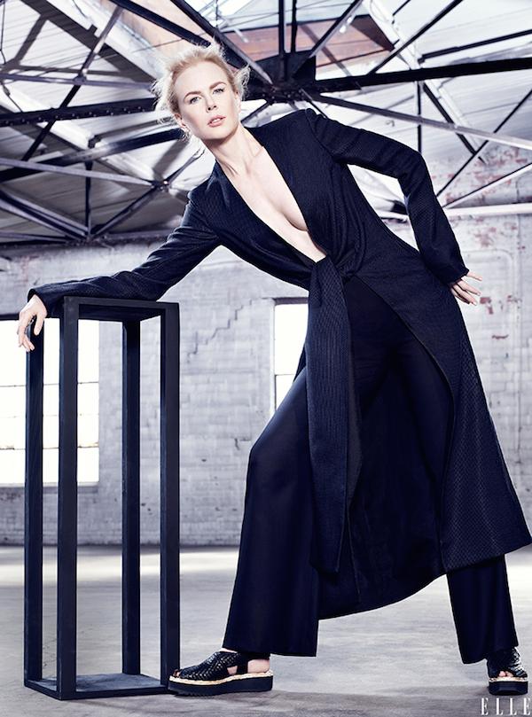 Nicole Kidman espontánea se casa luego conoce - [Elle]