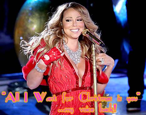 Mariah Carey ya no canta igual, la perdimos!