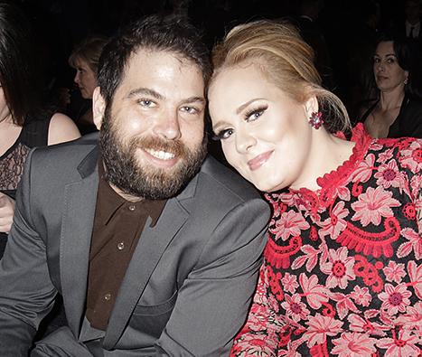 Adele y Simon Konecki juntos! Pese a rumores de separación