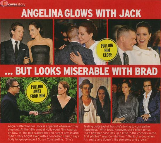 Angelina Jolie enamorada de otro hombre! [InTouch]