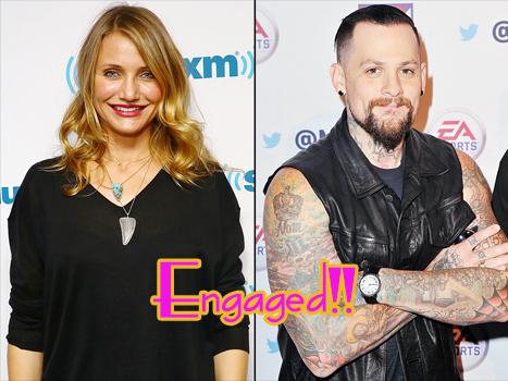 Cameron Diaz y Benji Madden comprometidos!