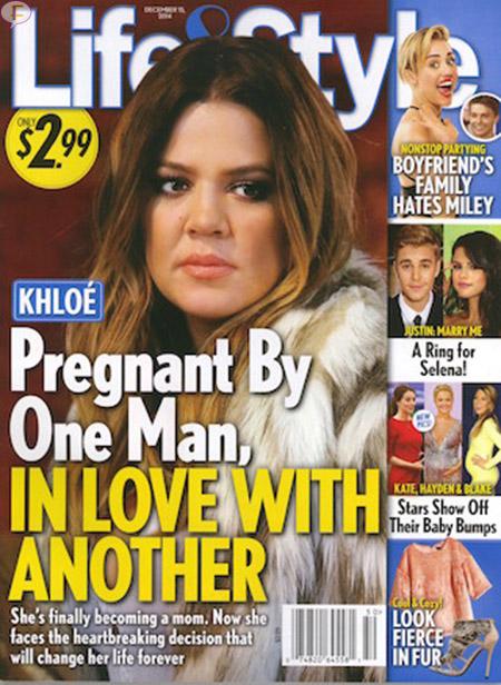 Khloe Kardashian embarazada, enamorada de otro! [Life&Style]
