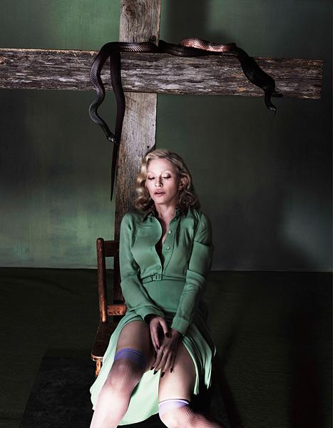 Madonna super joven para Interview